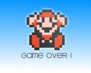 Super Mario Bros. Game Over