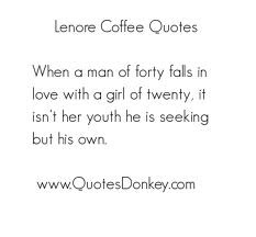 When A Man Of Forty Falls In Love With A Girl Of Twenty, It Isn't ...