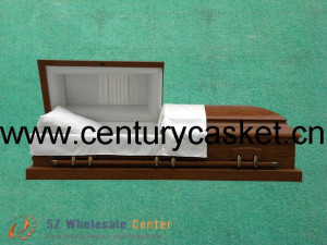 caskets and coffins. Wood Casket / Coffin (AK01 K)