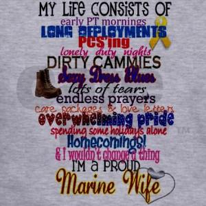 Life Quotes Marine Wife Quote