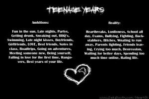 Heartbreak quotes teens wallpapers