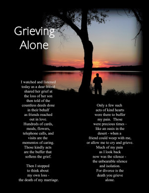 how to help a man who is grieving