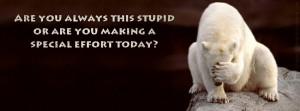 Sarcasm Quote Facebook Cover Photo