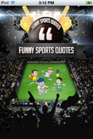 Download FunnySportQuotes iPhone iPad iOS