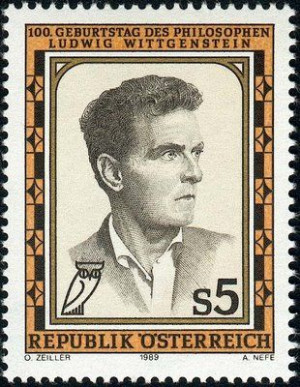 ludwig witgenstein stamp image | Ludwig Wittgenstein - Quotes by ...