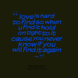 Finding Love Again Quotes Quotes picture: love is hard