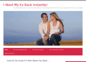 want my ex back instantly how to win back your ex tips tricks and ...