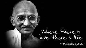 Philosophical Quotes About Love And Life: Mahatma Gandhi Said Where ...