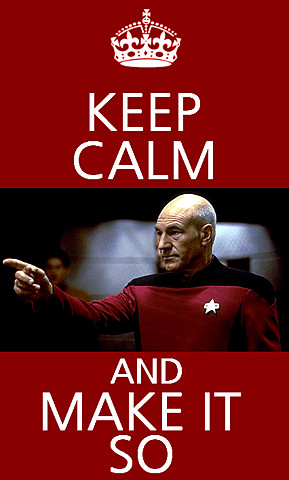 hippyann:Captain Jean Luc-Picard…U.S.S Enterprice! *make it so, make ...
