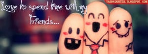SPENDING TIME WITH FRIENDS FB COVER