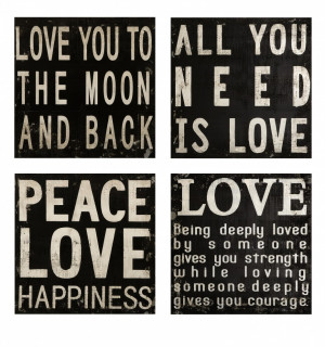 ... Quotes And Sayings: Collier Black And White Wall Quotes About Peace