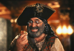 Bob Hoskins in Hook