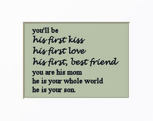 he is your whole world baby boy nursery wall quote quotes