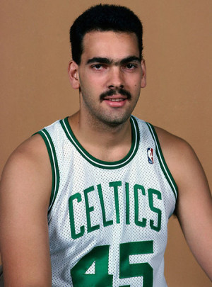 This is former Celtics player, Ramón Rivas. What is it about ...