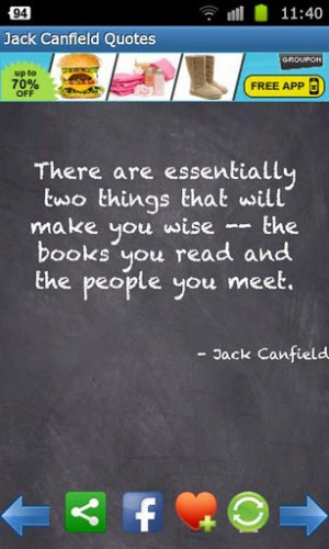 View bigger - y - Jack Canfield Quotes FREE for Android screenshot