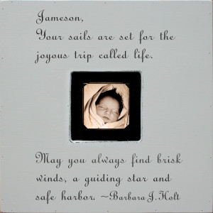 ... Kids Decor > Kids Picture Frames > Custom Quote Square Picture Frame