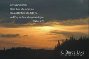 ... Those Who Hate You And Pray For Those Who Persecute You. ~ Bible Quote
