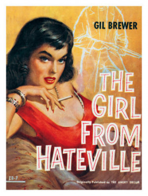 Hateville Pin Up Girl Magazine Poster