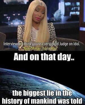 Funny Pictures of Nicki Minaj