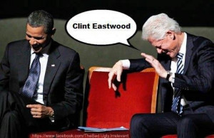 Clint Eastwood RNC 'Empty Chair' Meme