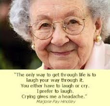 Here is another great quote by Marjorie...