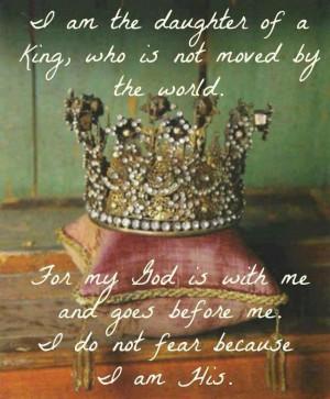 The Princess Warrior Prayer