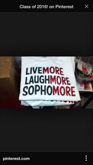 Sophomore Class Shirts 2017