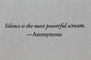 anonymous, photo, quote, scream, silence - image #316194 on Favim.com