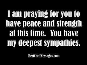 Sympathy Quotes For My Brother In Law ~ Sympathy Card Messages: What ...