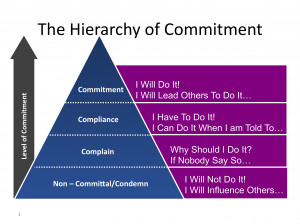 From Compliance to Commitment – What's underneath it?