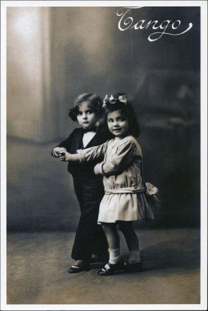 TANGO: This vintage image seems impossibly out of date, but I took a ...