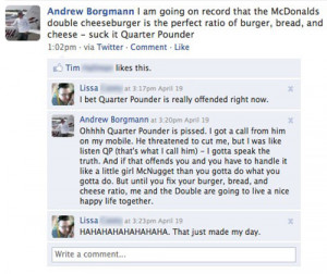 The Greatest Facebook Status Update Ev-er and Why Twitter/Facebook Are ...