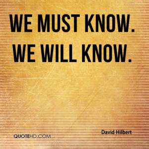 David Hilbert Quotes | QuoteHD