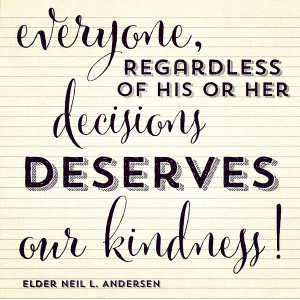 Lds Thanksgiving Quotes Kindness-quote