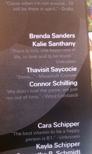 Senior Quotes About Life: Funniest Senior Yearbook Quotes In Cover ...