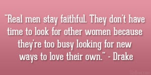 Stay Faithful Quotes