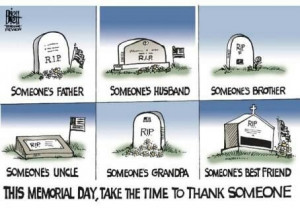 Every day of the year Thank a Veteran!