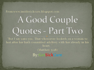 Biblical Quotes Adultery