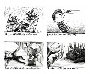 doctor who comic my artwork Edward Gorey Gallifreycrumb Tinies ...