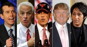 David Plouffe Charlie Crist President Obama Donald Trump and