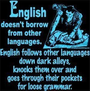 Yes indeedy. And not just loose grammar; also felicitous phrases and ...