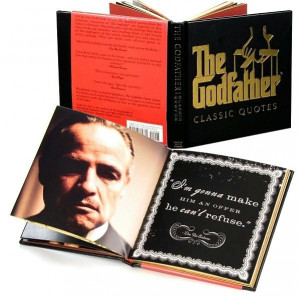 The Godfather Classic Quotes -- i'm related to him..this would be cool ...