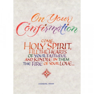 On Your Confirmation Cards - Pkg of 6