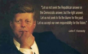 Political, quotes, sayings, future, john f kennedy