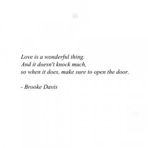 ... Quotes Love, Oth Love Quotes, Brooke Davis Quotes, One Tree Hill Quote