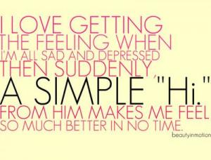 Love Quotes feeling sad depressed simply