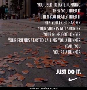 Quotes running
