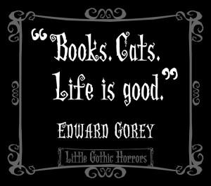 Happy Birthday, Edward Gorey!