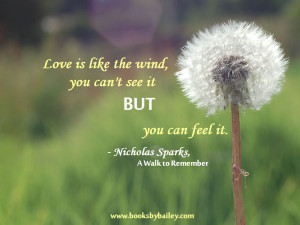 Love Is Like The Wind You Cant