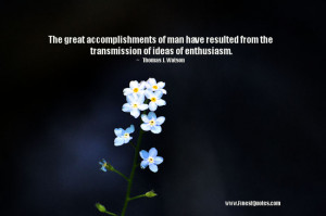 Great Accomplishments Quotes